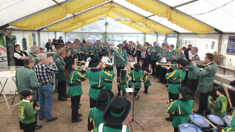 Schützenfest-Nachmittag am 01.05.2017